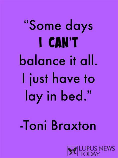 sle quotation toni braxton lupus quote
