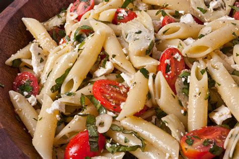 cold pasta salad recipes cold pasta salad with baby artichokes pinninos kin