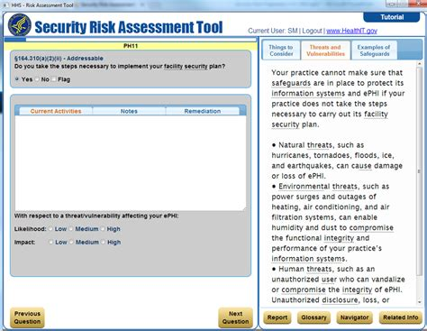 hipaa risk assessment template hipaa security risk assessment template