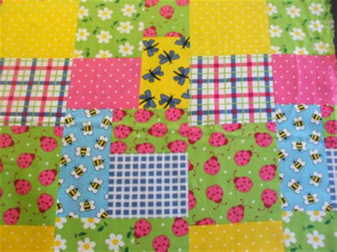 Facts About Patchwork - patchwork ladybird print 100 cotton fabric