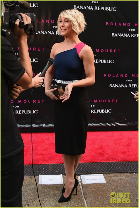 Roland Mourets Gap Launch by Julianne Hough Gets Colorful At Roland Mouret For Banana
