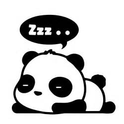 Wall Stickers Picture Frames 67 cute panda zzz sleeping bubble cartoon vinyl decal