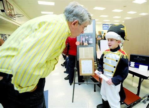 biography of george washington for elementary students look alive bess brannen students bring history to life at