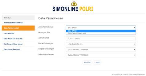 cara membuat sim yg mudah 7 cara mudah membuat sim secara online berita info tips