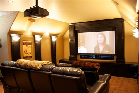home theater design king systems llc movie room bar modern home theater portland by