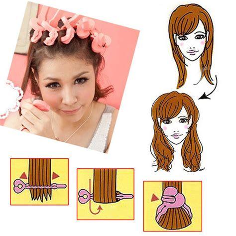 Bendy Hair Roller Sponge Isi 6 aliexpress buy 6 pcs curler makers soft foam sponge bendy twist curls no damaged to hair