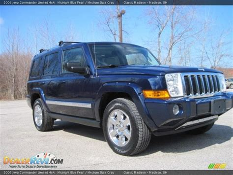 Jeep Commander 4x4 2006 Jeep Commander Limited 4x4 Midnight Blue Pearl