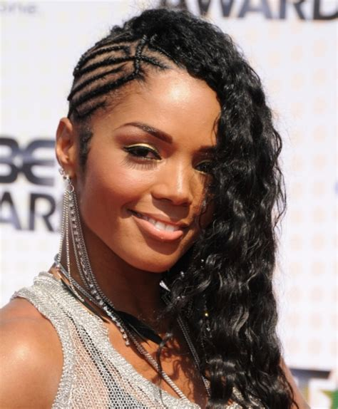 oneside black hair styles braided hairstyles for black girls 30 impressive