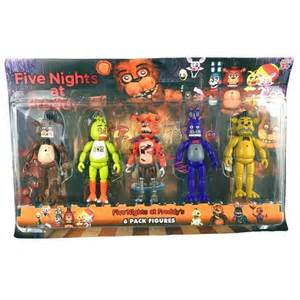 Five nights at freddy s 6 quot action figures with light toys gift ebay
