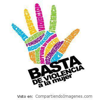 imagenes de basta ala violencia de genero basta dile no a la violencia contra la mujer imagenes