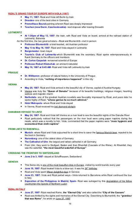 Resume Templates Jose Rizal Paper Format Tagalog An Outline Of Jose Rizal U0027s Promotion Letters Livecareer