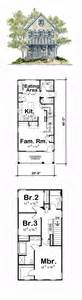 narrow house floor plans narrow lot house plans house plans and bedrooms on