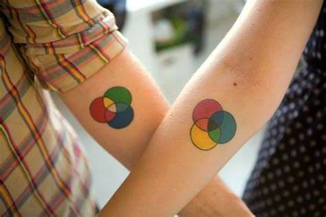 clever couple tattoos unique tattoos c r a f t