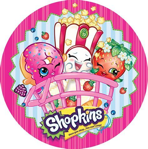 Shopkins Cake Topper Shoppin shopkins