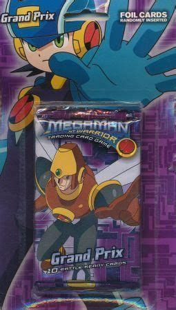 Kartu Rockman Carddass Prism 85 megaman ccg grand prix booster pack decipher various other ccg sealed product other ccgs