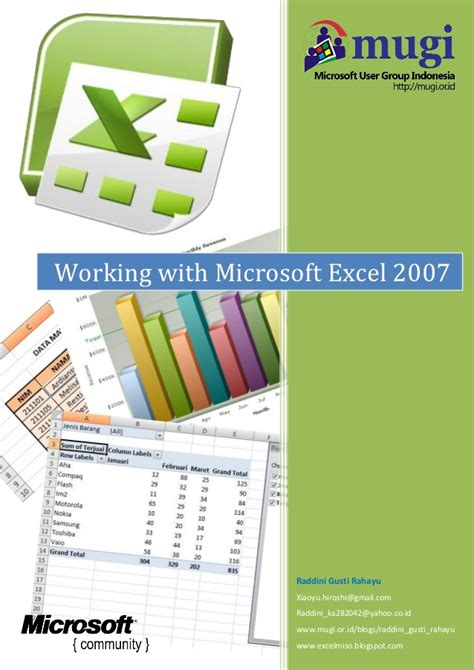 tutorial excel lengkap 2007 ebook lengkap microsoft excel 2007