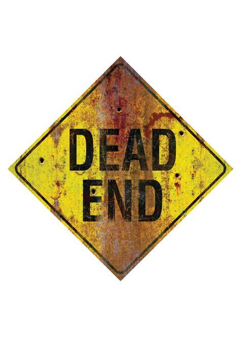 Dead End Dead End Metal Sign Decorations