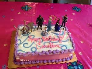 Sheet cake birthday ideaa cakes frozen frozen sheet cake cake