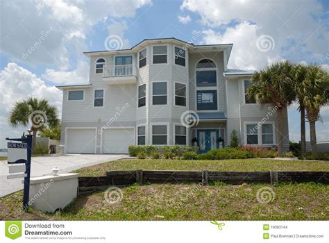 three story house stylish three story home stock images image 19383144