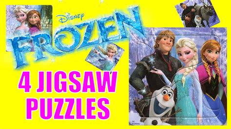 Jigsaw Puzzle Frozen Olaf 100pcs disney frozen jigsaw puzzle featuring elsa olaf kristoff and sven