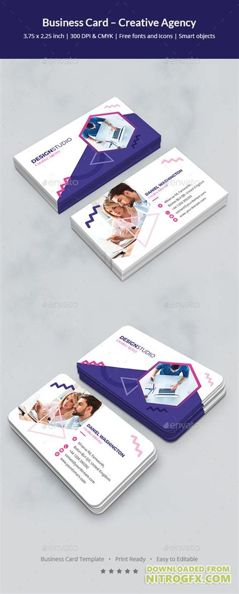 Creative Agency Business Cards