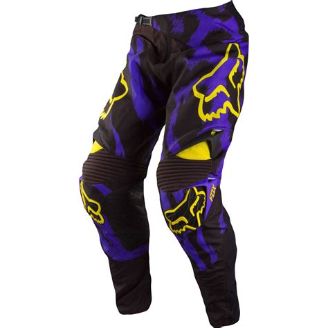 purple motocross fox mx gear 2015 360 marz purple motocross mtb off road