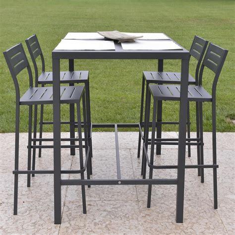 esterno giardino tavolo alto in ferro per esterni e giardino vendita