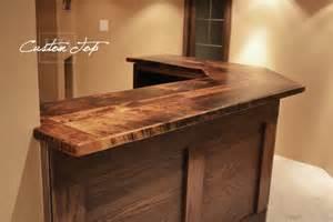 Reclaimed Wood Bar Top Reclaimed Wood Bar Kitchen Island Tops Hd Threshing