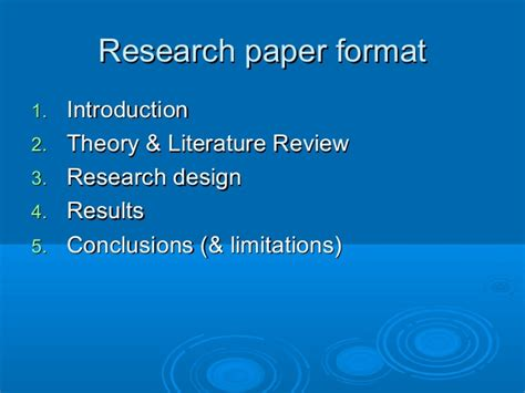 Skopos Theory Literature Review by Ubc Research Paper Format