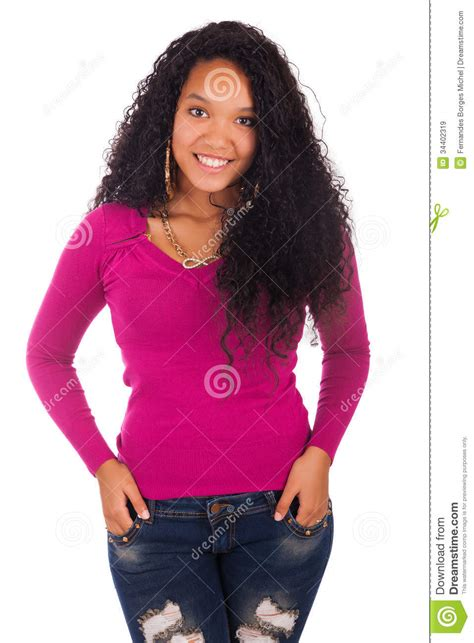 nonopro african american shrumpsa hair young african american woman with long hair royalty free
