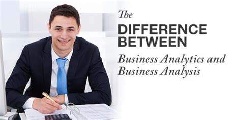 Difference Between Mba And Ms In Healthcare Administration by The Difference Between Business Analytics And Business