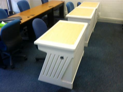 Three Types Of Small Desks Available In Surplus Today Small College Desk