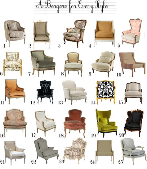 furniture types a bergere chair for every style the anatomy of design