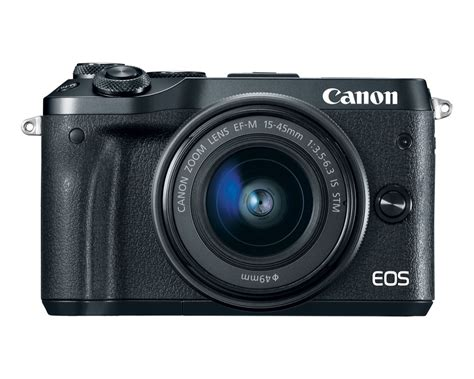 eos m mirrorless canon eos m6 mirrorless joins the eos m series