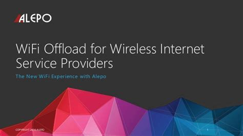 wifi providers wifi offload for wireless service providers