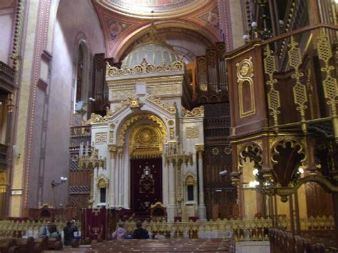 Interior Of A Synagogue by Synagogue Interior Note The Pipe Organ