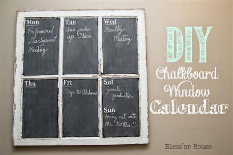 diy chalkboard diy chalkboard window calendar bless er house