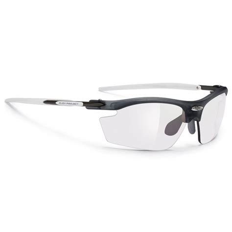 Rudy Project Lensa Minuspluscylinder rudy project rydon cycling sunglasses with frozen ash frame and impactx 2 laser black lens