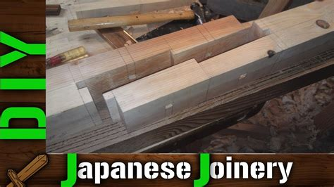 diy traditional japanese wood joints rabbeted oblique