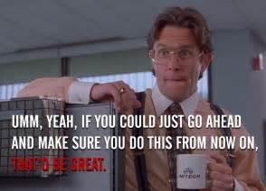 Office Space Zone Out Quote Office Space Quotes Quotesgram
