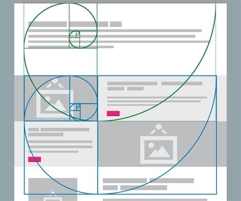 grid layout ratio understanding and using the golden ratio in web design