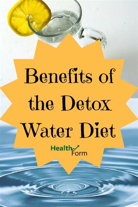 Benefits Of Detox Water Everyday by Benefits Of The Detox Water Diet