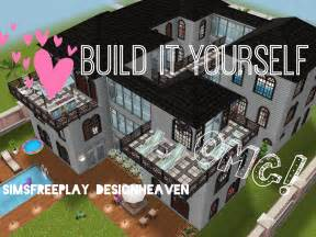 build your own mansion sims freeplay build it yourelf family mansion the