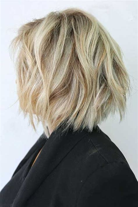 messy short layers on lower length 25 best layered bob pictures bob hairstyles 2017 short