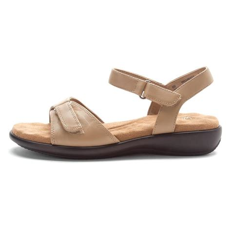 leather walking sandals womens walking cradles women s sky 2 sandals in beige leather