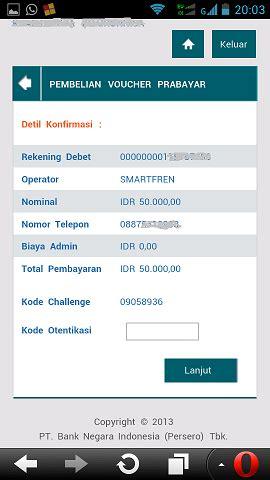 format sms banking bni telkomsel cara isi pulsa dengan bni internet banking mari ngenet