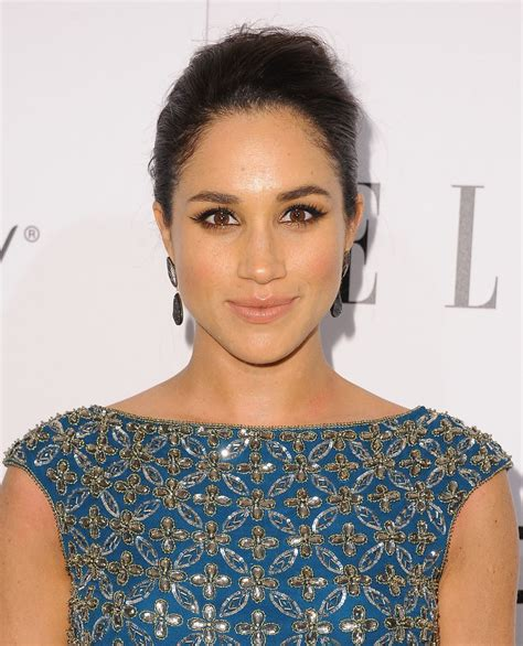 meagan markle meghan markle at elle s women in television celebration in