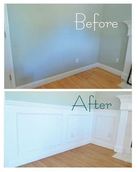 Cheap Wainscoting Ideas by Diy Wall Panels Living Room Fireplace Ideas