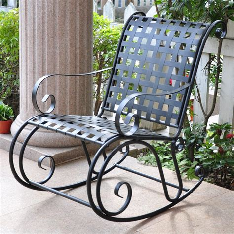 Wrought Iron Rocker Patio Chairs Furniture Patio Furniture Dining Sets Outdoor Wicker Patio Furniture Dining Wrought Iron Rocker
