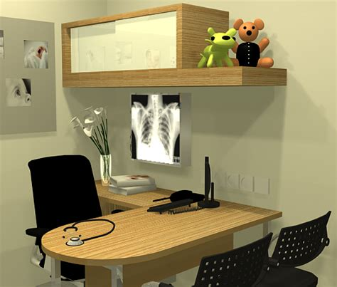 Doctor Table obgyn clinic interior design search design